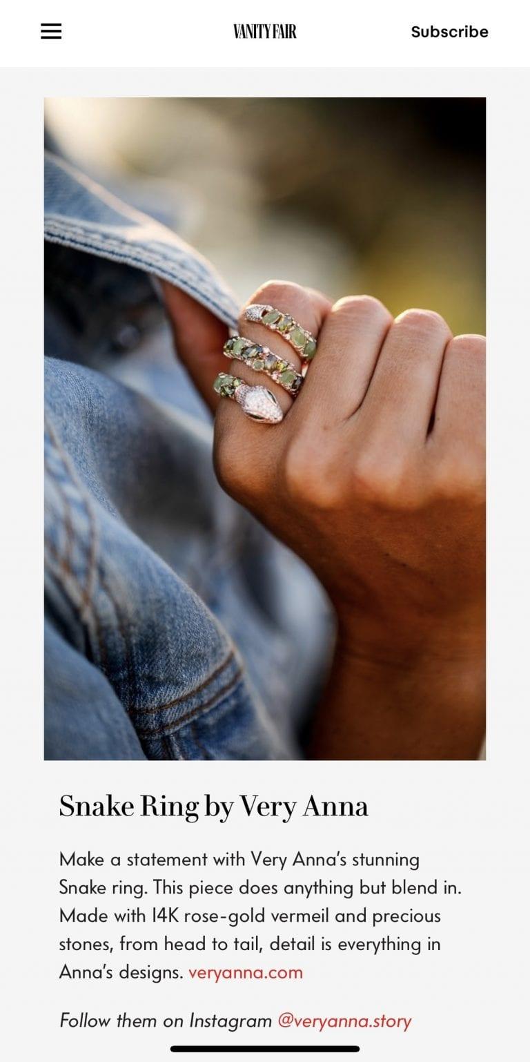 Media, Very Anna Jewelry