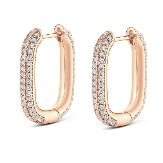 14 K gold earrings